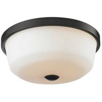 Z-Lite 411F3 Montego 3 Light 18 inch Coppery Bronze Flush Mount Ceiling Light