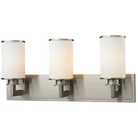 Z-Lite 412-3V Savannah 3 Light 23 inch Brushed Nickel Vanity Wall Light photo thumbnail