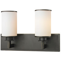 Z-Lite 413-2V Savannah 2 Light 16 inch Olde Bronze Vanity Wall Light