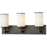 Z-Lite 413-3V Savannah 3 Light 23 inch Olde Bronze Vanity Wall Light