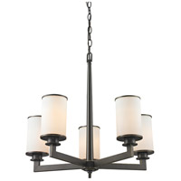 Z-Lite Savannah 5 Light Chandelier in Olde Bronze 413-5