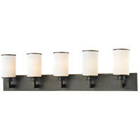 Z-Lite 413-5V Savannah 5 Light 39 inch Olde Bronze Vanity Wall Light