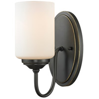 Z-Lite Cardinal 1 Light Wall Sconce in Olde Bronze 414-1S