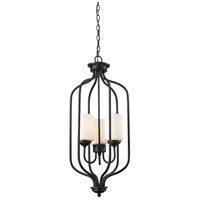 Cardinal 3 Light 14 inch Olde Bronze Pendant Ceiling Light