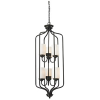 Z-Lite 414-40 Cardinal 6 Light 15 inch Olde Bronze Pendant Ceiling Light