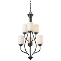 Z-Lite 414-6 Cardinal 6 Light 18 inch Olde Bronze Chandelier Ceiling Light