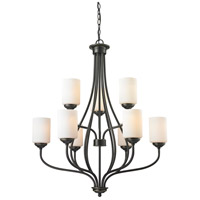 Z-Lite 414-9 Cardinal 9 Light 30 inch Olde Bronze Chandelier Ceiling Light