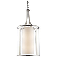 Brushed Nickel Steel Willow Pendants
