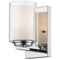 Z-Lite 426-1S-CH Willow 1 Light 5 inch Chrome Wall Sconce Wall Light