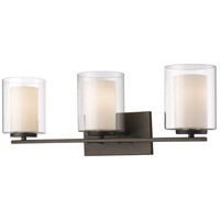 Z-Lite Willow 3 Light Vanity Light in Olde Bronze 426-3V-OB