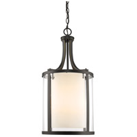 Z-Lite Willow 4 Light Pendant in Olde Bronze 426-4-OB