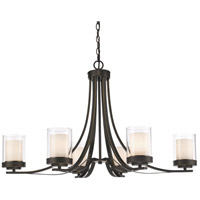 Z-Lite 426-6-OB Willow 6 Light 35 inch Olde Bronze Chandelier Ceiling Light