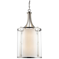 Willow 8 Light 16 inch Brushed Nickel Pendant Ceiling Light