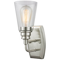 Z-Lite Annora 1 Light Wall Sconce in Brushed Nickel 428-1S-BN