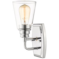 Z-Lite 428-1S-CH Annora 1 Light 5 inch Chrome Wall Sconce Wall Light