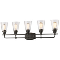 Z-Lite Annora 5 Light Vanity Light in Olde Bronze 428-5V-OB