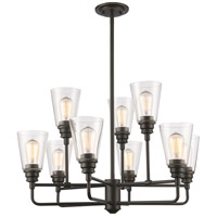 Z-Lite 428-9-OB Annora 9 Light 29 inch Olde Bronze Chandelier Ceiling Light