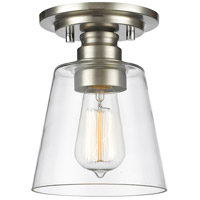 Z-Lite 428F1-BN Annora 1 Light 7 inch Brushed Nickel Flush Mount Ceiling Light