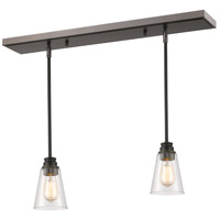 Z-Lite 428MP-2OB Annora 1 Light 30 inch Olde Bronze Island Light Ceiling Light in 2