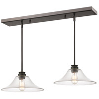 Z-Lite 428MP14-2OB Annora 1 Light 14 inch Olde Bronze Island Light Ceiling Light