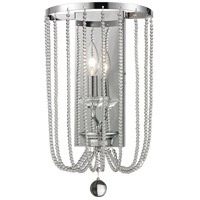 Z-Lite Serenade 1 Light Wall Sconce in Chrome 429-1W-CH
