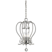 Z-Lite 429-3-CH Serenade 3 Light 13 inch Chrome Mini Chandelier Ceiling Light