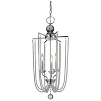 Serenade 3 Light 14 inch Chrome Pendant Ceiling Light