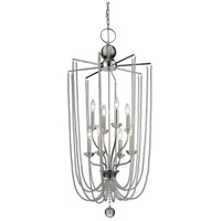 Z-Lite 429-8C-CH Serenade 8 Light 21 inch Chrome Pendant Ceiling Light