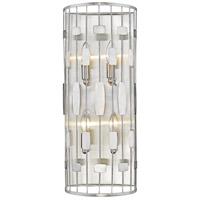 Z-Lite 430-4S-BN Almet 4 Light 9 inch Brushed Nickel Wall Sconce Wall Light