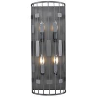 Z-Lite 430-4S-BRZ Almet 4 Light 9 inch Bronze Wall Sconce Wall Light