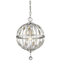 Z-Lite 430B12-BN Almet 1 Light 12 inch Brushed Nickel Pendant Ceiling Light