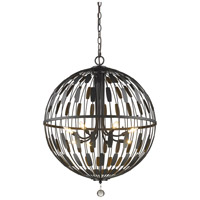 Z-Lite 430B30-BRZ Almet 8 Light 30 inch Bronze Pendant Ceiling Light
