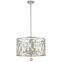 Z-Lite Brushed Nickel Steel Almet Pendants