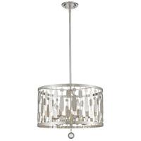 Z-Lite 430D20-BN Almet 5 Light 20 inch Brushed Nickel Pendant Ceiling Light