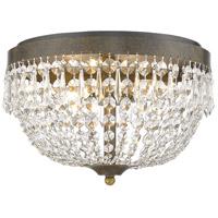 Z-Lite 431F4-GB Danza 4 Light 15 inch Golden Bronze Flush Mount Ceiling Light