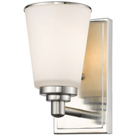 Z-Lite Jarra 1 Light Wall Sconce in Brushed Nickel 432-1S-BN