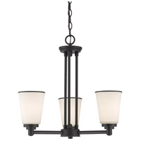 Z-Lite Jarra 3 Light Chandelier in Bronze 432-3BRZ