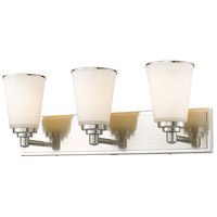 Jarra 3 Light 23 inch Brushed Nickel Vanity Light Wall Light