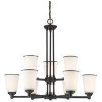 Z-Lite Jarra 9 Light Chandelier in Bronze 432-9BRZ