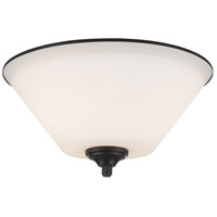 Z-Lite Jarra 2 Light Flush Mount in Bronze 432F2-BRZ
