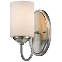 Cardinal 1 Light 5 inch Brushed Nickel Wall Sconce Wall Light in 15