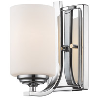 Z-Lite 435-1S-CH Bordeaux 1 Light 5 inch Chrome Wall Sconce Wall Light