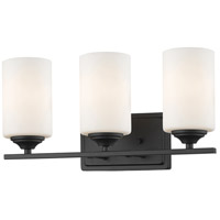 Z-Lite 435-3V-BRZ Bordeaux 3 Light 17 inch Bronze Vanity Wall Light