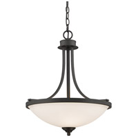 Z-Lite Bordeaux 3 Light Pendant in Bronze 435P-BRZ