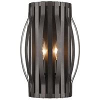 Z-Lite 436-2S-BRZ Moundou 2 Light 8 inch Bronze Wall Sconce Wall Light