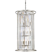 Monarch 12 Light 20 inch Brushed Nickel Chandelier Ceiling Light