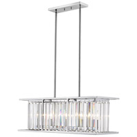 Z-Lite 439-32CH Monarch 5 Light 32 inch Chrome Chandelier Ceiling Light