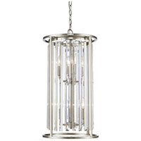 Z-Lite 439-6BN Monarch 6 Light 14 inch Brushed Nickel Chandelier Ceiling Light