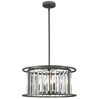Z-Lite 439P-BRZ Monarch 6 Light 22 inch Bronze Pendant Ceiling Light