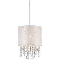Lumi Glace 1 Light 10 inch Brushed Nickel Pendant Ceiling Light